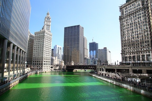 The Chicago St. Patrick's Day Parade